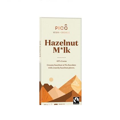 Pico - Hazelnut Milk Chocolate 80g