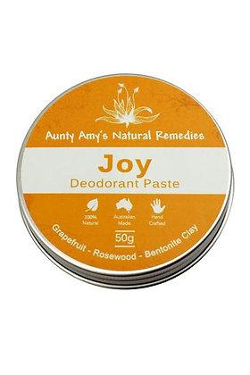 Aunty Amy's Natural Remedies - Joy Deodorant Paste