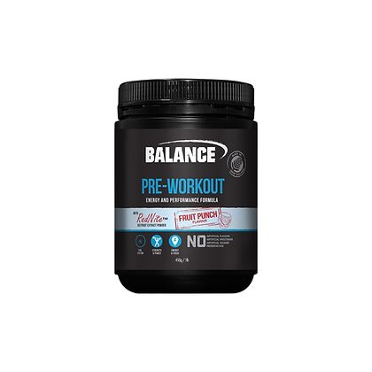 Balance - Pre Work Out 450g