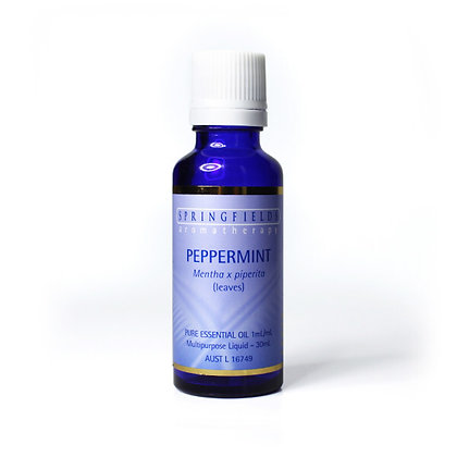 Springfields - Peppermint Essential Oil 30ml