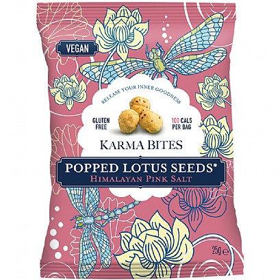Karma Bites - Popped Lotus Seeds Himalayan Pink Salt