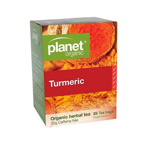 Planet Organic - Tumeric Organic Tea 25 Bags