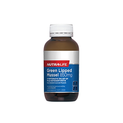 Nutralife - Green Lipped Mussel 850mg 90c