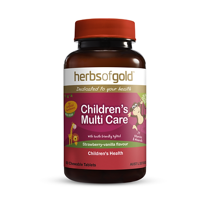 Herbs of Gold - Children's Multi Care (chewable) 60T