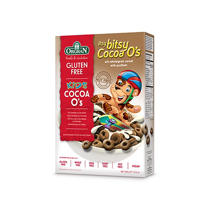 Orgran - Itsy Bitsy Cocoa O's Cereal 300g