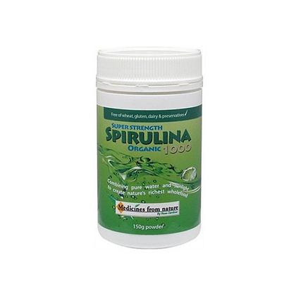 Medicines From Nature - Super Strength Spirulina 1000 (Powder)