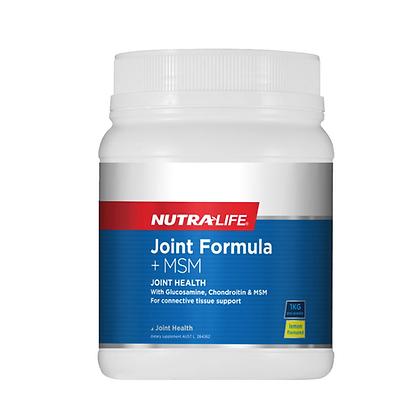 Nutralife - Joint Formula + MSM Lemon Powder 1kg