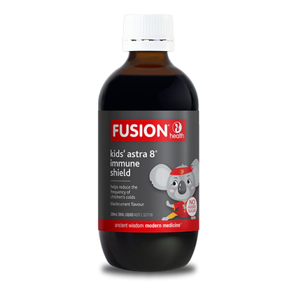 Fusion Health - Kids' Astra 8 Immune Shield 200ML