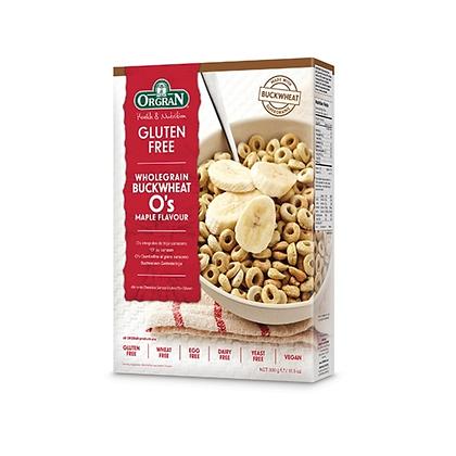 Orgran - Wholegrain Buckwheat O's Maple Flavour 300g