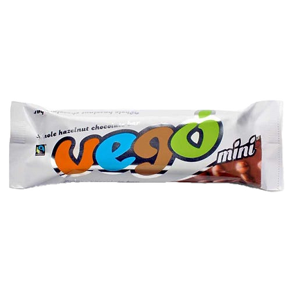 Vego - Whole Hazelnut Chocolate Bar 65g