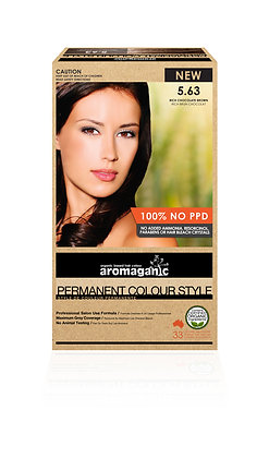Aromaganic - Permanent Colour Style  5.63 Rich Chocolate Brown