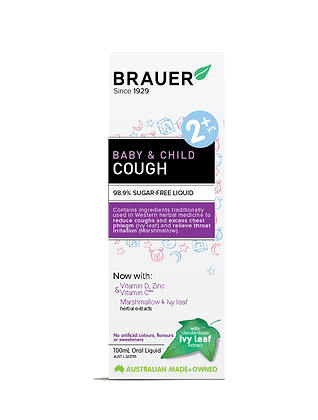 Brauer - Baby & Child Cough 100ml