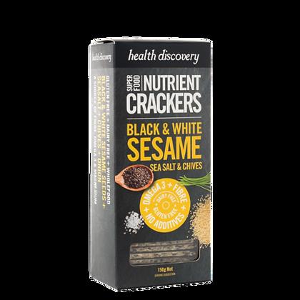 Health Discovery - Black & White Sesame, Sea Salt & Chives