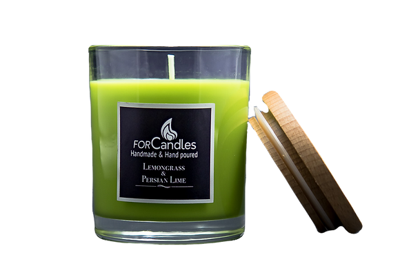 For Candles - Lemongrass & Persian Lime Soy Candle