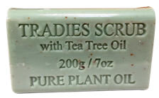 Destination Health - Tradies Scrub Pure Plant Oil Soap 200gm