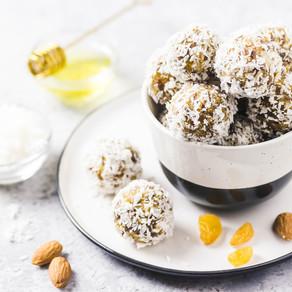 Lemon and Almond Bliss Balls