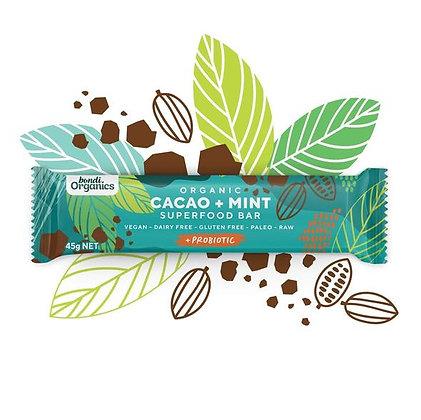 Bondi Organics - Cacao & Mint Superfood Bar