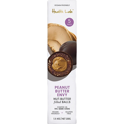 Health Lab - Peanut Butter Envy Nut-Butter Filled Balls (5 Pack)