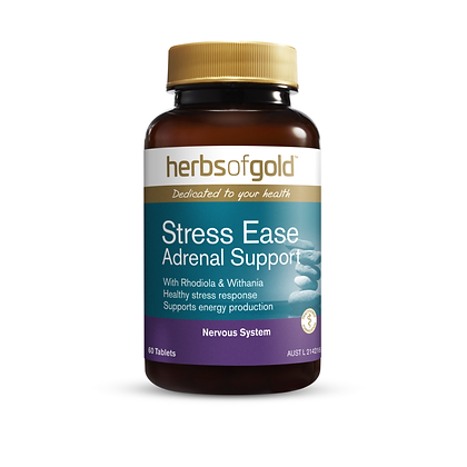 Herbs of Gold - Stress Ease Adrenal Support 60T