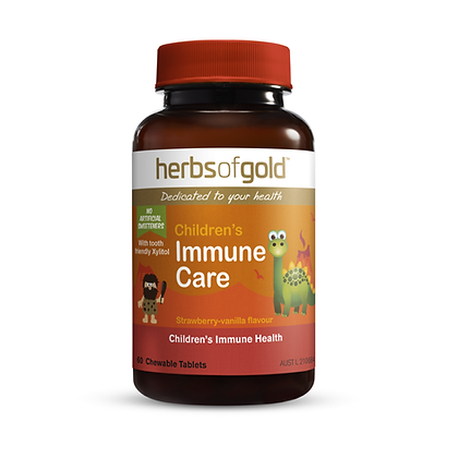 Herbs of Gold - Children's Immune Care (chewable) 60T