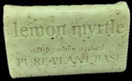 Destination Health - Lemon Myrtle Pure Plant Oil Soap 200gm