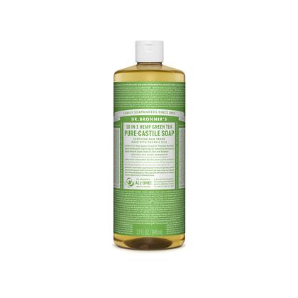Dr Bronner's - Pure Castile Liquid Soap Green Tree