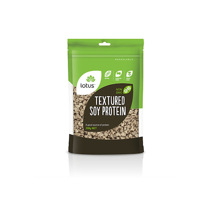 Lotus - Textured Soy Protein 200g