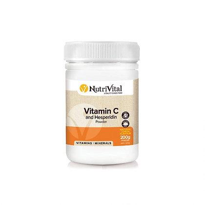 NutriVital - Vitamin C & Hesperidin 200gm