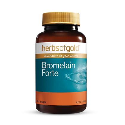 Herbs of Gold - Bromelain Forte 60VC