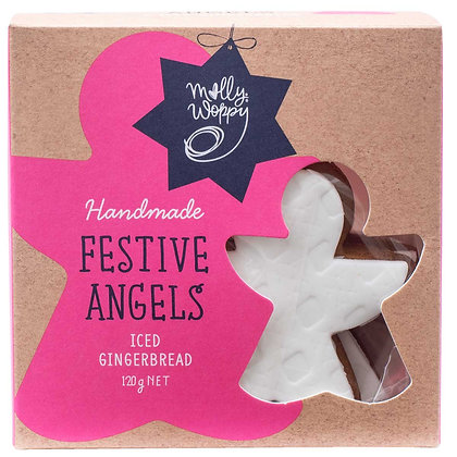 Milly Woppy - Festive Angles Iced Gingerbred