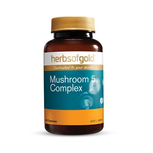 Herbs of Gold - Mushroom 5 Complex 60VC
