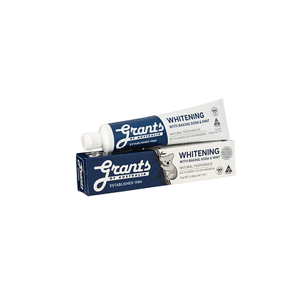 Grants - Whitening Toothpaste with Baking Powder 100g