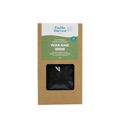 Pacific Harvest - Wakame Seaweed Fronds (Farmed) 40g