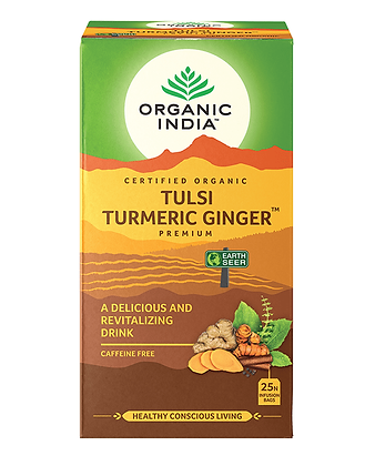 Organic India - Tulsi Turmeric Ginger Tea