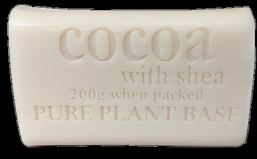 Destination Health - Cocoa & Shea Butter Pure Plant Oil Soap 200gm