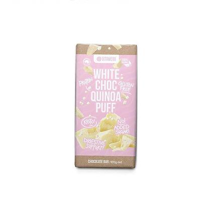 Vitawerx - White Chocolate Quinoa Puff Bar 100g