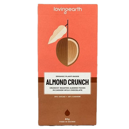 Loving Earth - Almond Crunch Chocolate