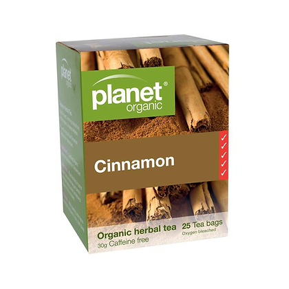 Planet Organic - Cinnamon Organic Tea 25 Bags