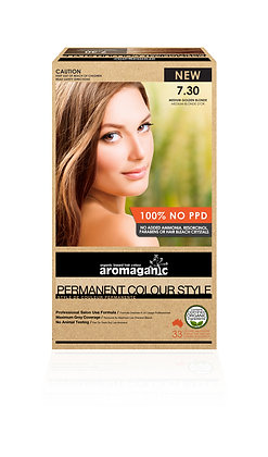 Aromaganic - Permanent Colour Style  7.30 Medium Golden Brown