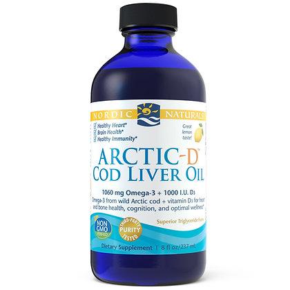 Nordic Naturals - Arctic-D Cod Liver Oil (237ml)