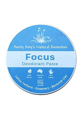 Aunty Amy's Natural Remedies - Focus Deodorant Paste