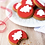 Thumbnail: Milly Woppy - Red Iced Star Gingerbread