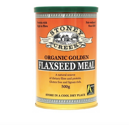 Stoney Creek - Organic Golden Flaxseed Meal 500g