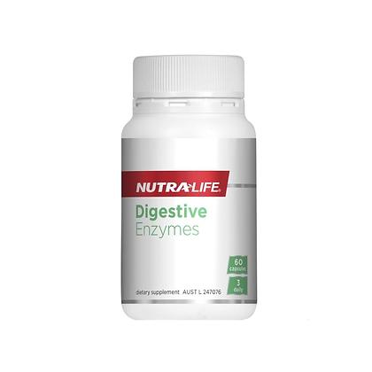 Nutralife - Digestive Enzymes 60c