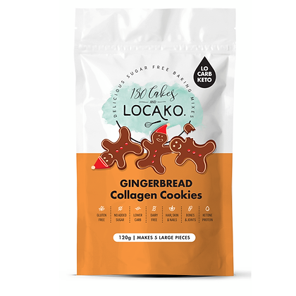 Locako - 80 Cakes Gingerbread Collagen Cookies