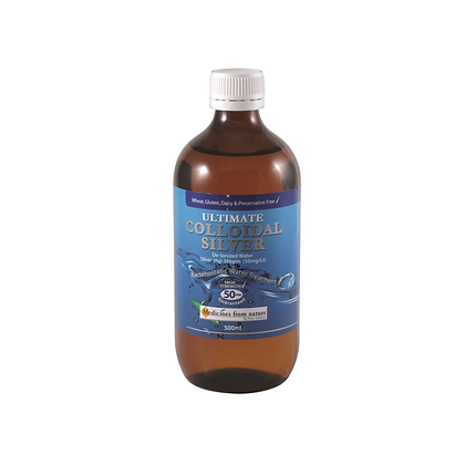 Medicines From Nature - Ultimate Colloidal Silver 50PPM  (Liquid)