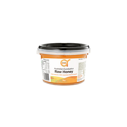 Natural Road - Eucalyptus Raw Honey 1kg