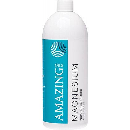 Amazing Oils - Magnesium Oil Natural Relief Refill 1L