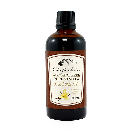 Chefs Choice Dessert - Alcohol Free Pure Vanilla Extract 100ml