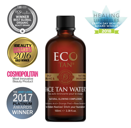 Eco Tan - Face Tan Water 100ml
